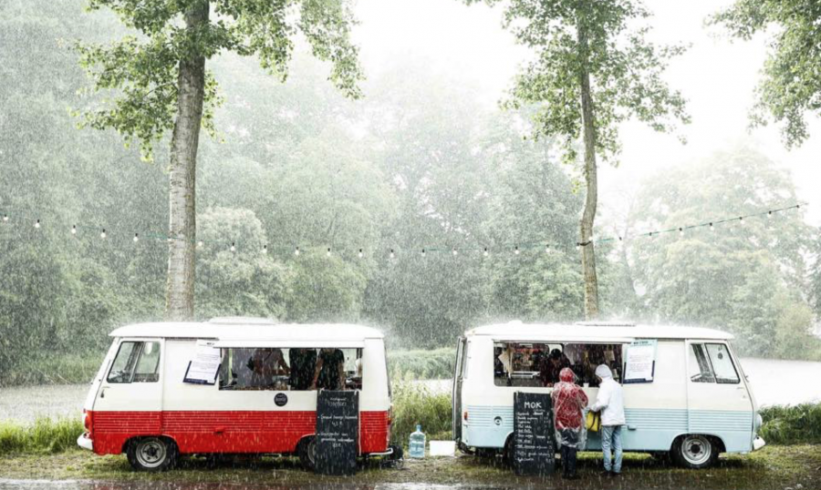 Rent a food truck without staff
